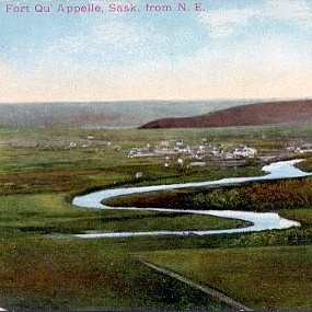 Postcard Views of the Qu'Appelle Valley